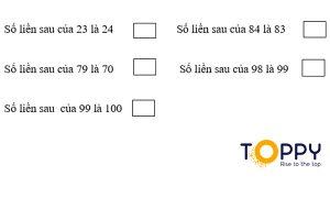Đề thi toán lớp 1 học kỳ 2