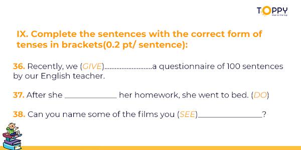Đề thi tiếng Anh lớp 10 học kì 2