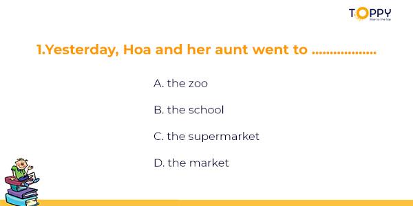 Đề thi tiếng Anh lớp 7 học kì 2