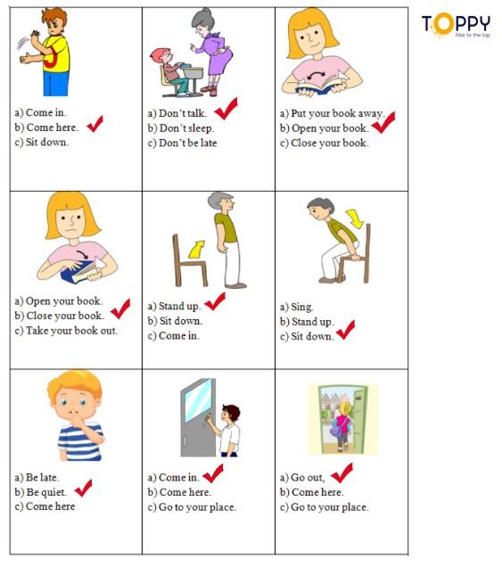 Đề thi tiếng Anh 3 học kì 1