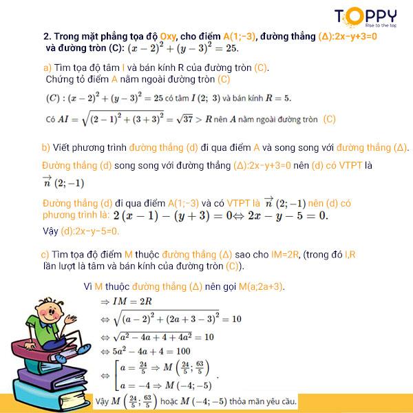 Đề thi toán 10 học kì 2