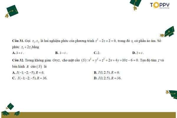 Tổng hợp đề kiểm tra học kì 2 toán 12